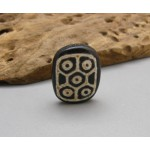10 Eyed Old Dzi Tibet Agate Buddha Power Very Lucky Stone Bead Pendant