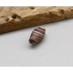 Old Natural Color Layer Agate Bead Pendant