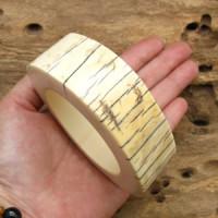 Genuine Natural Antique Big Jiant Ivory Bracelet